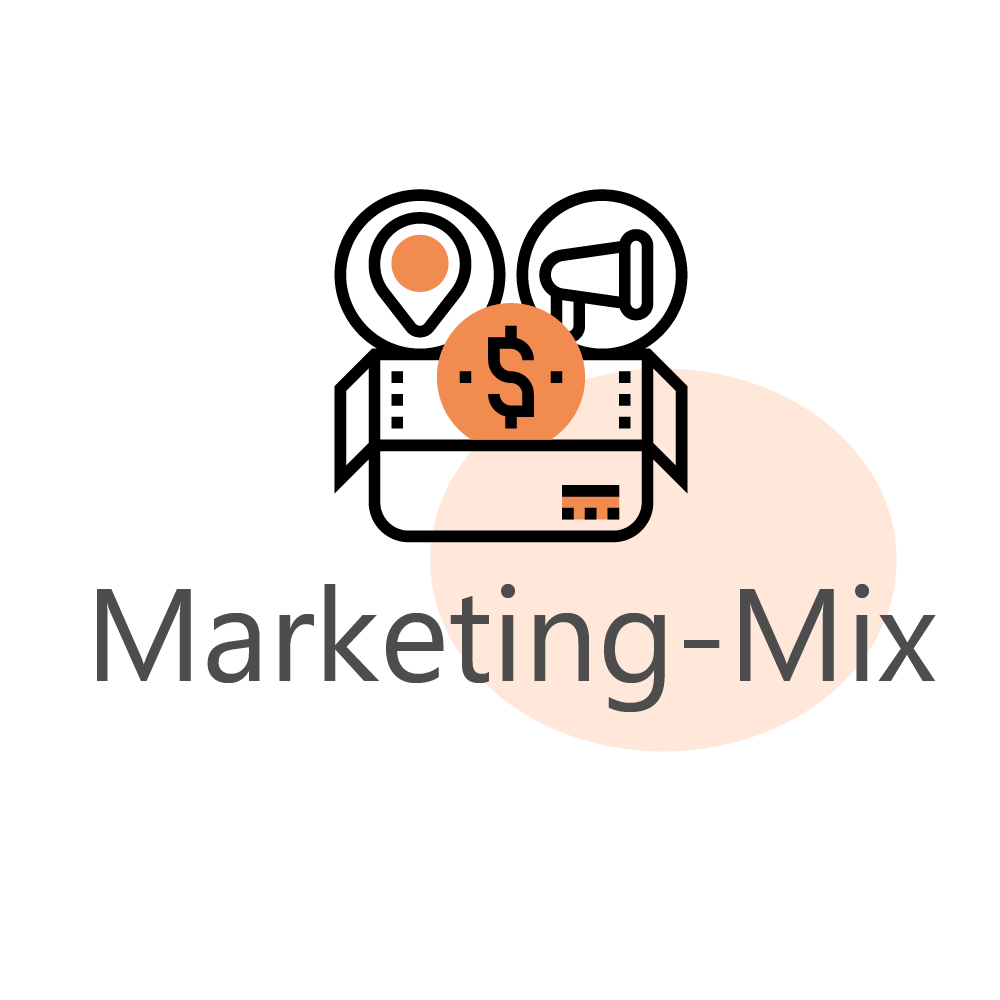 marketing mix icon