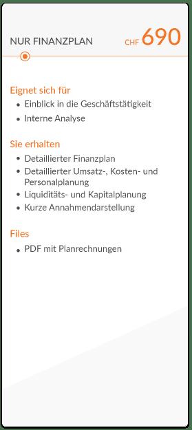 businessplan basic chf 690 mit beschreibung