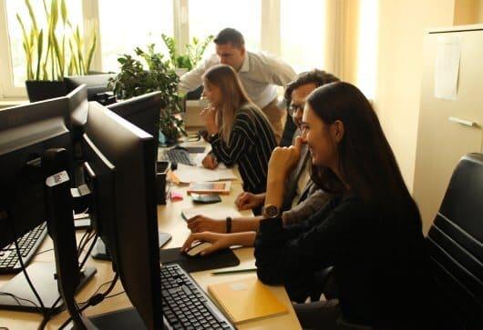 businessplan-pro team bei der arbeit