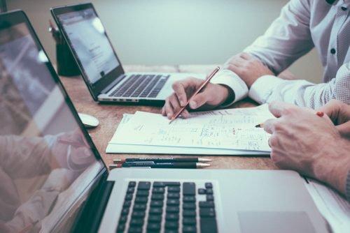 Mitarbeiterbeteiligungen documents notebooks businessplan