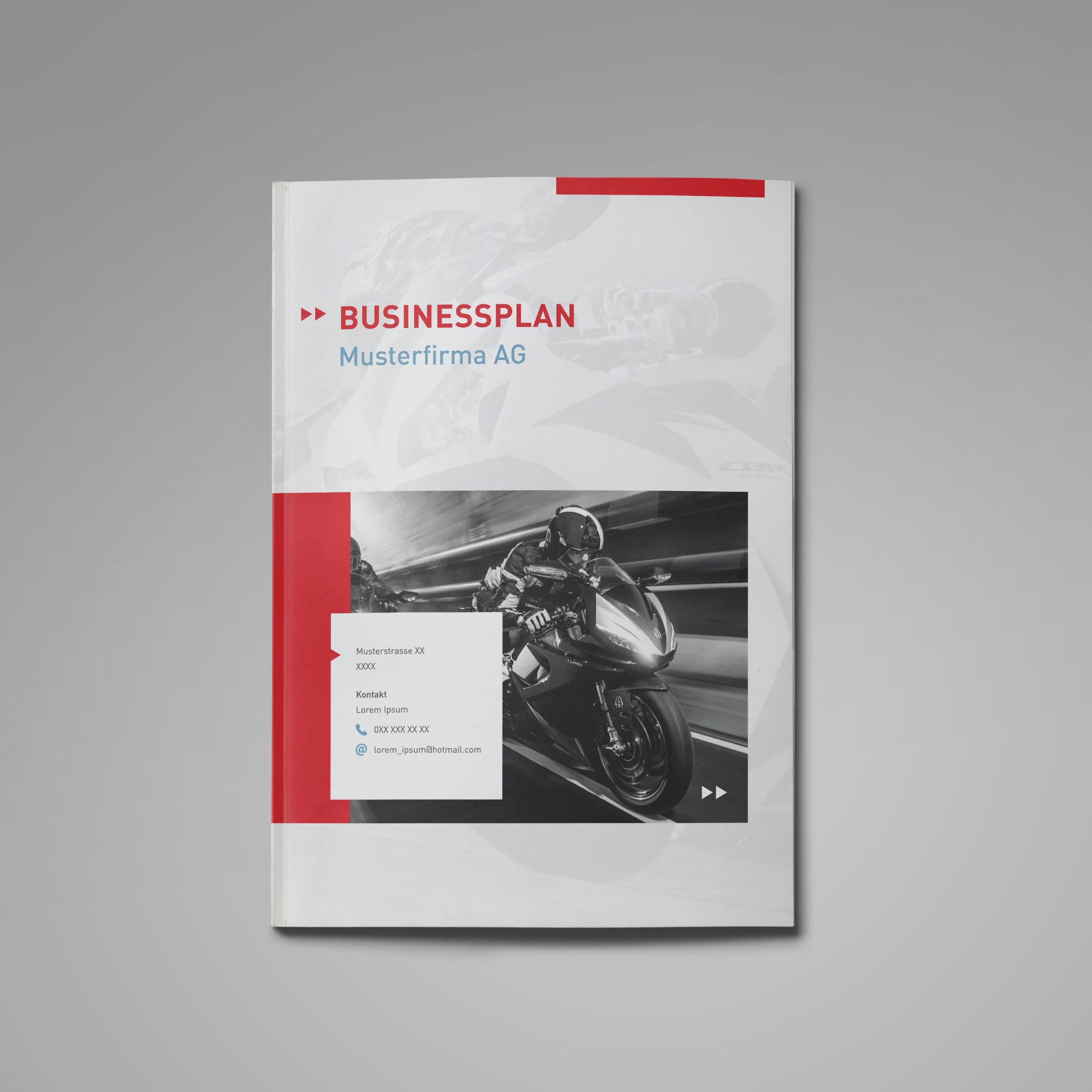 Motorradhandel Businessplan